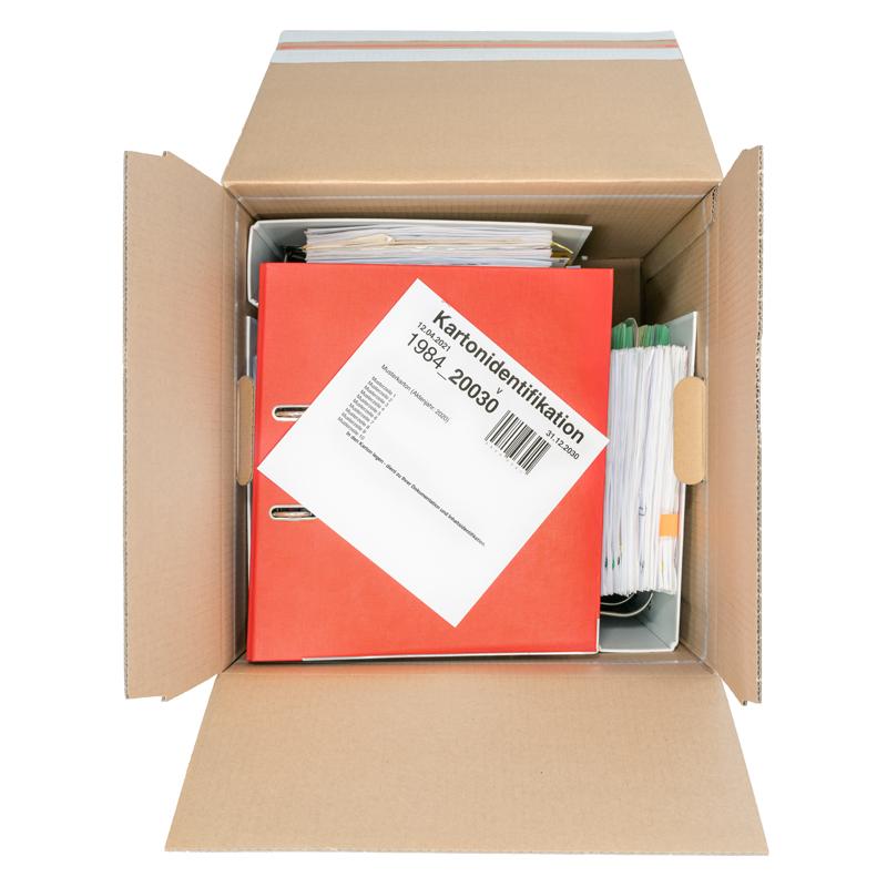 BlitzArchiv - Packen, 6 Ordner und Karton-ID